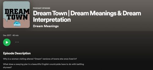 dream meanings relaxing podcast for students in a lockdown