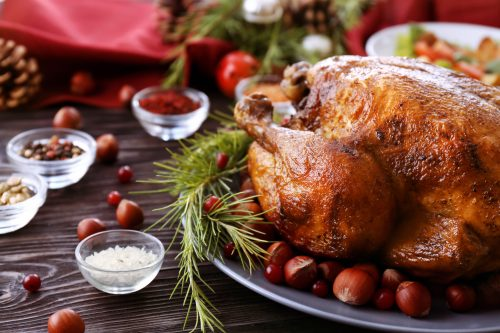 cook a christmas dinner for your student flatmates in Manchester