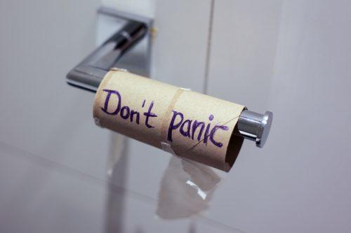 toilet paper lockdown struggles