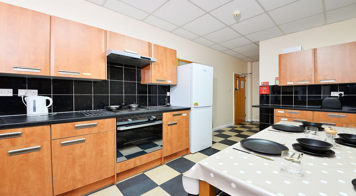 Shared Kitchen in Apollo House Coventry