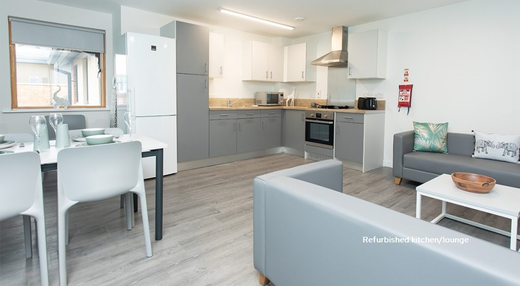 Refurbished Shared Kitchen Abode Student Accommodation