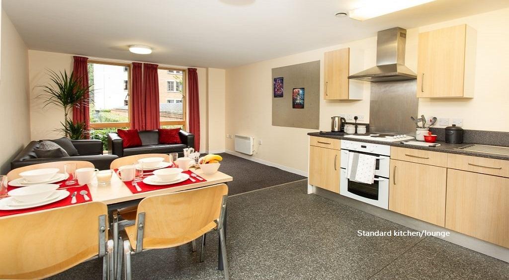 Standard Shared Kitchen Abode Student Accommodation
