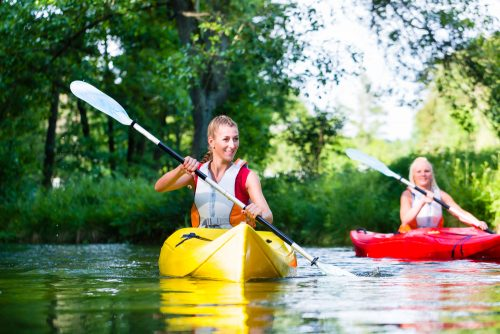 christmas canoe paddle in southampton