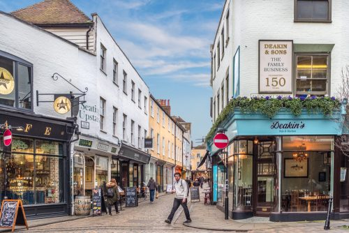 virtual guided tour of canterbury for christmas