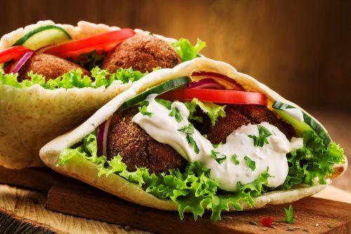 falafel bar vegan takeaway