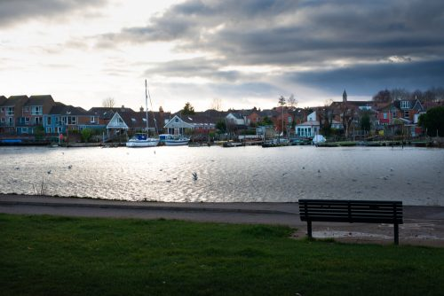 riverside park in southampton is perfect for a christmas walk
