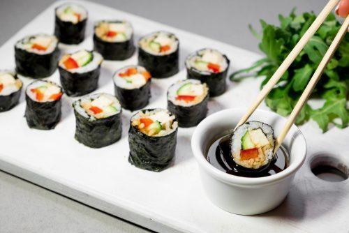 vegan sushi in norwich