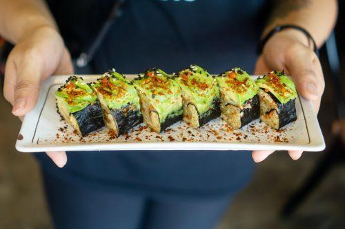 vegan sushi takeaway sheffield