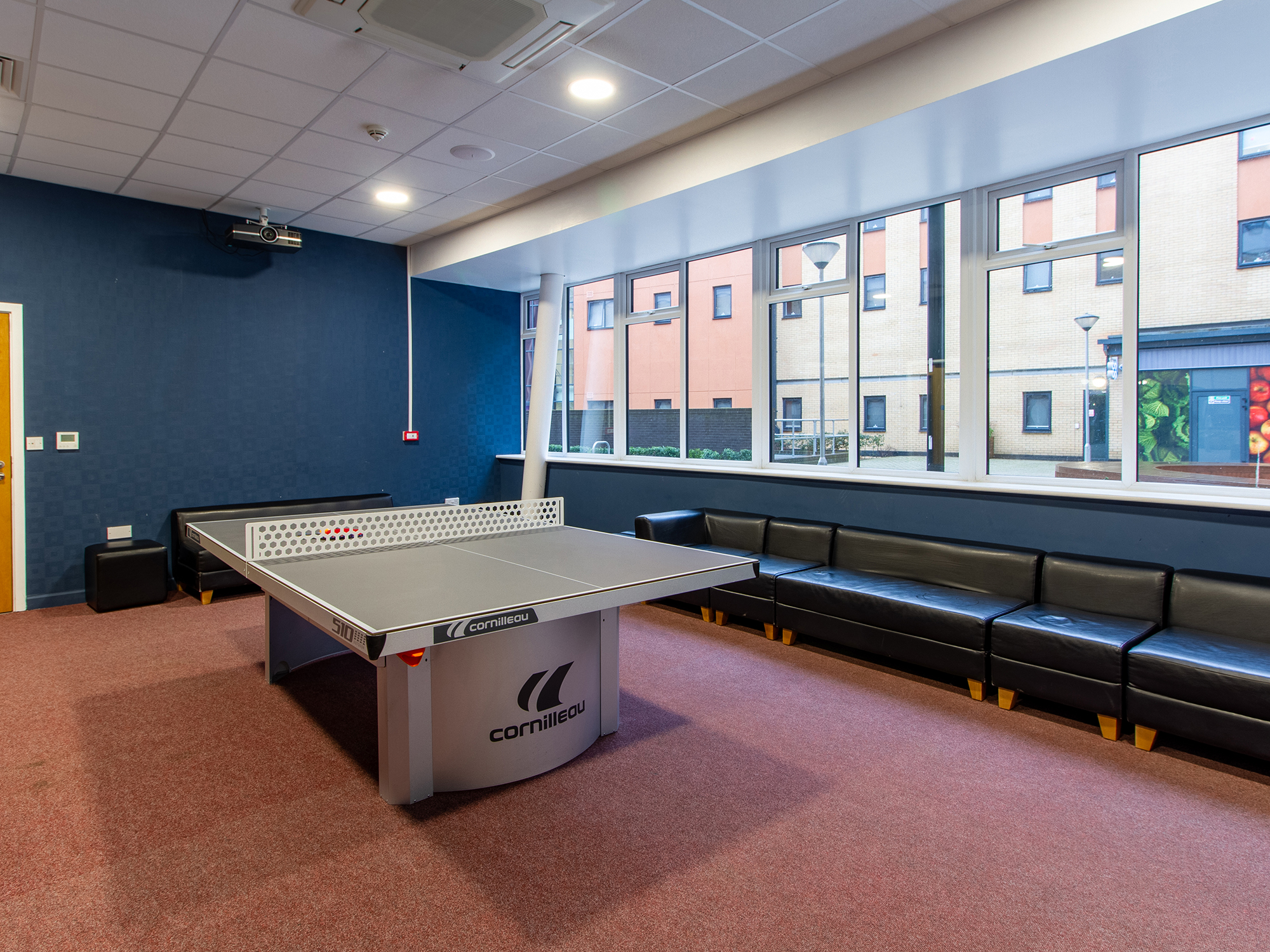 game room The Maltings Colchester student accommodation