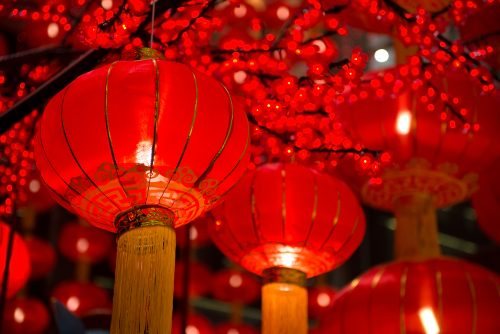 decorate accommodation for chinese new year
