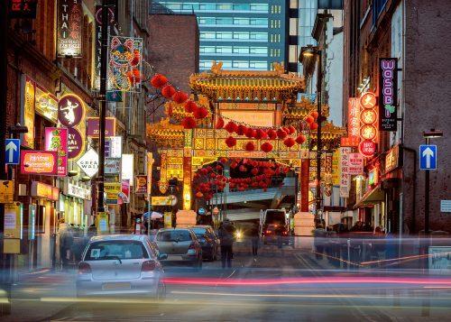 walk around chinatown in manchester