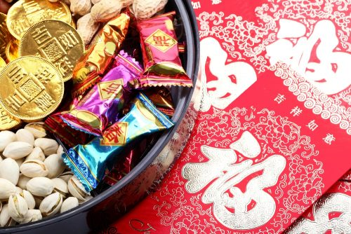 have some lucky candy for chinese new year in manchester