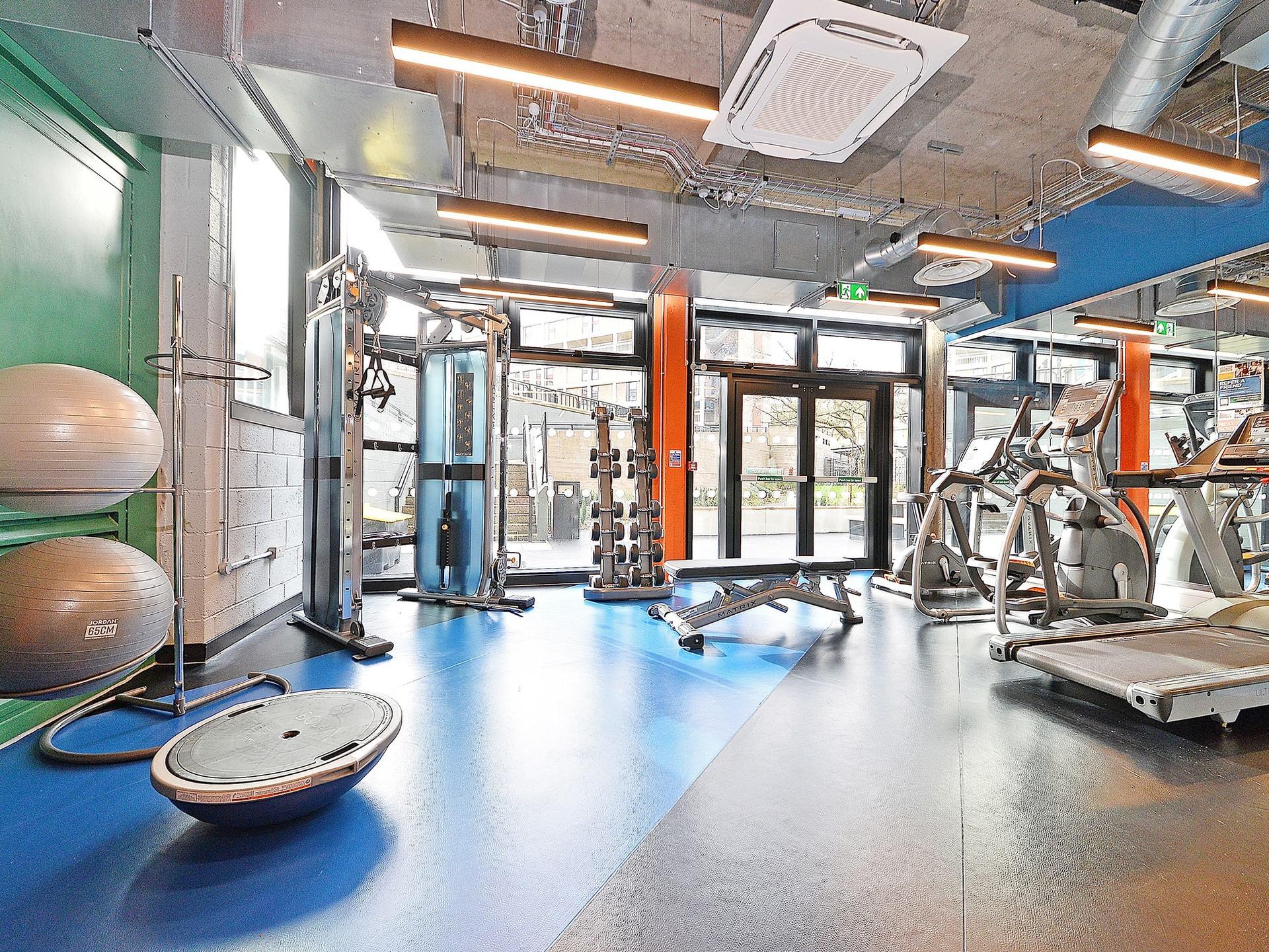 fitness area Beton House Sheffield Student Accommodation