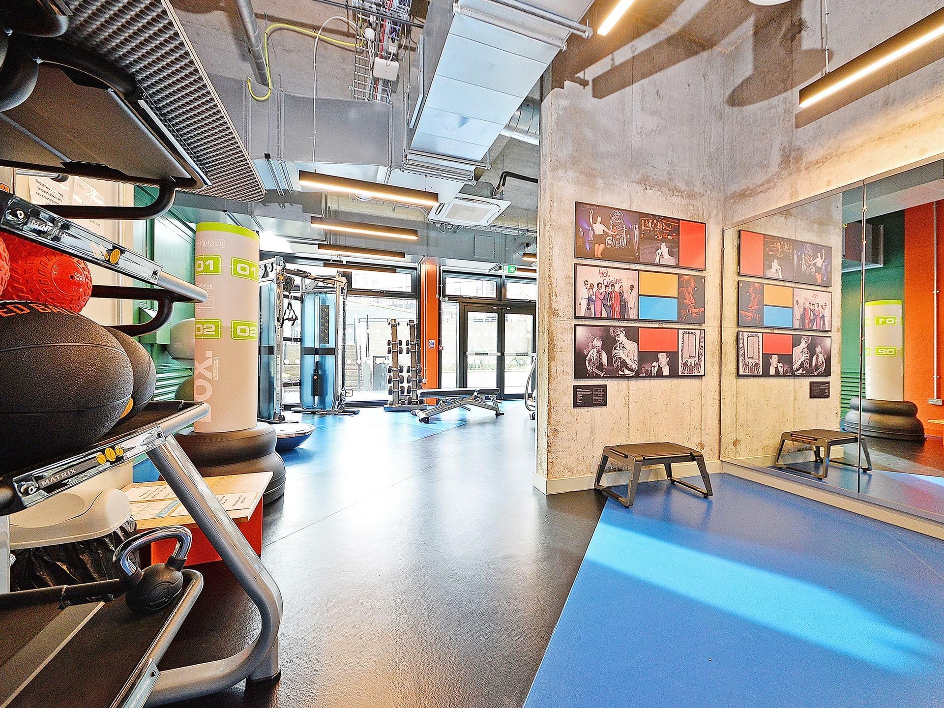 fitness space Beton House Sheffield Student Accommodation