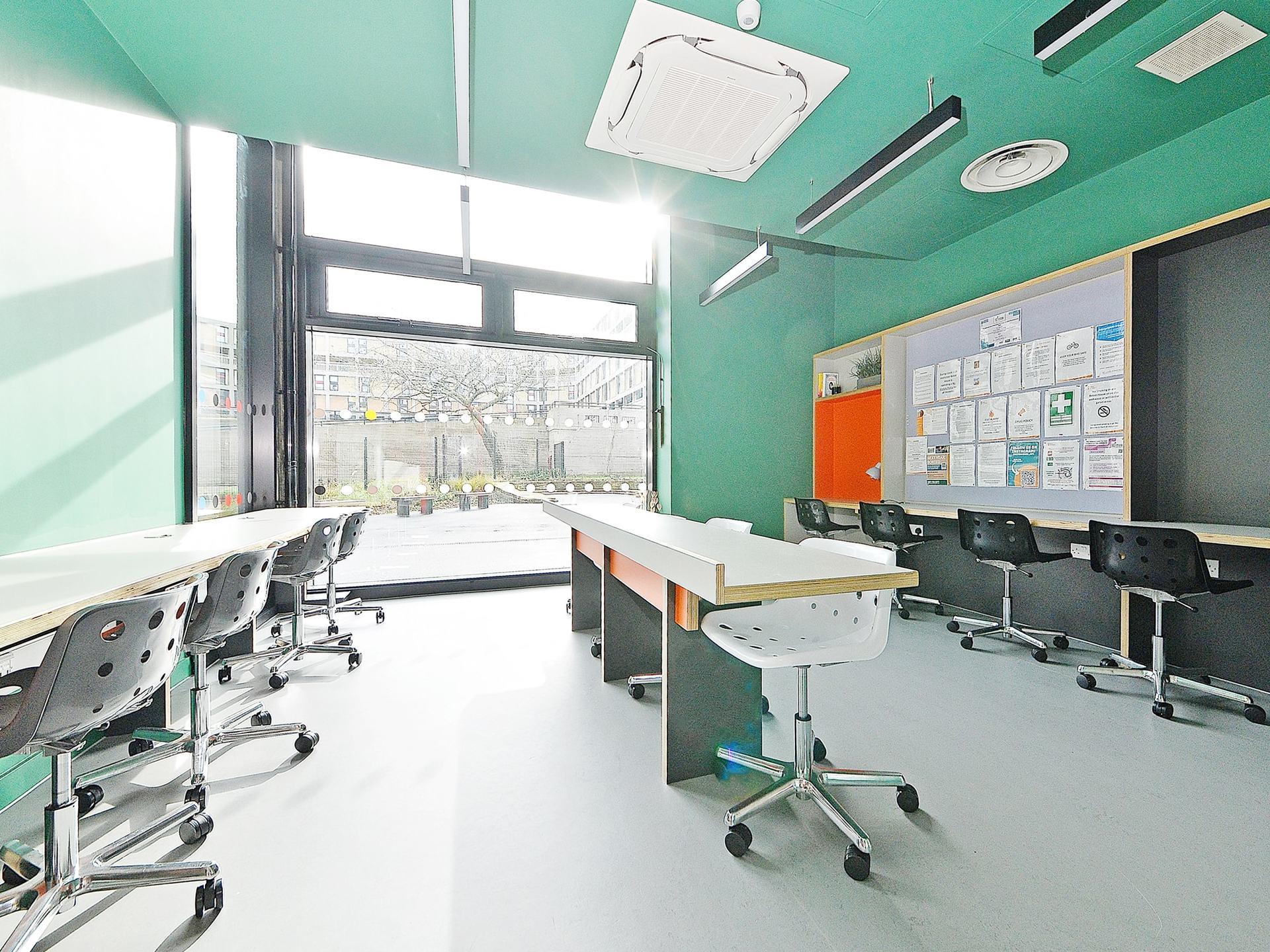 quiet area Beton House Sheffield Student Accommodation
