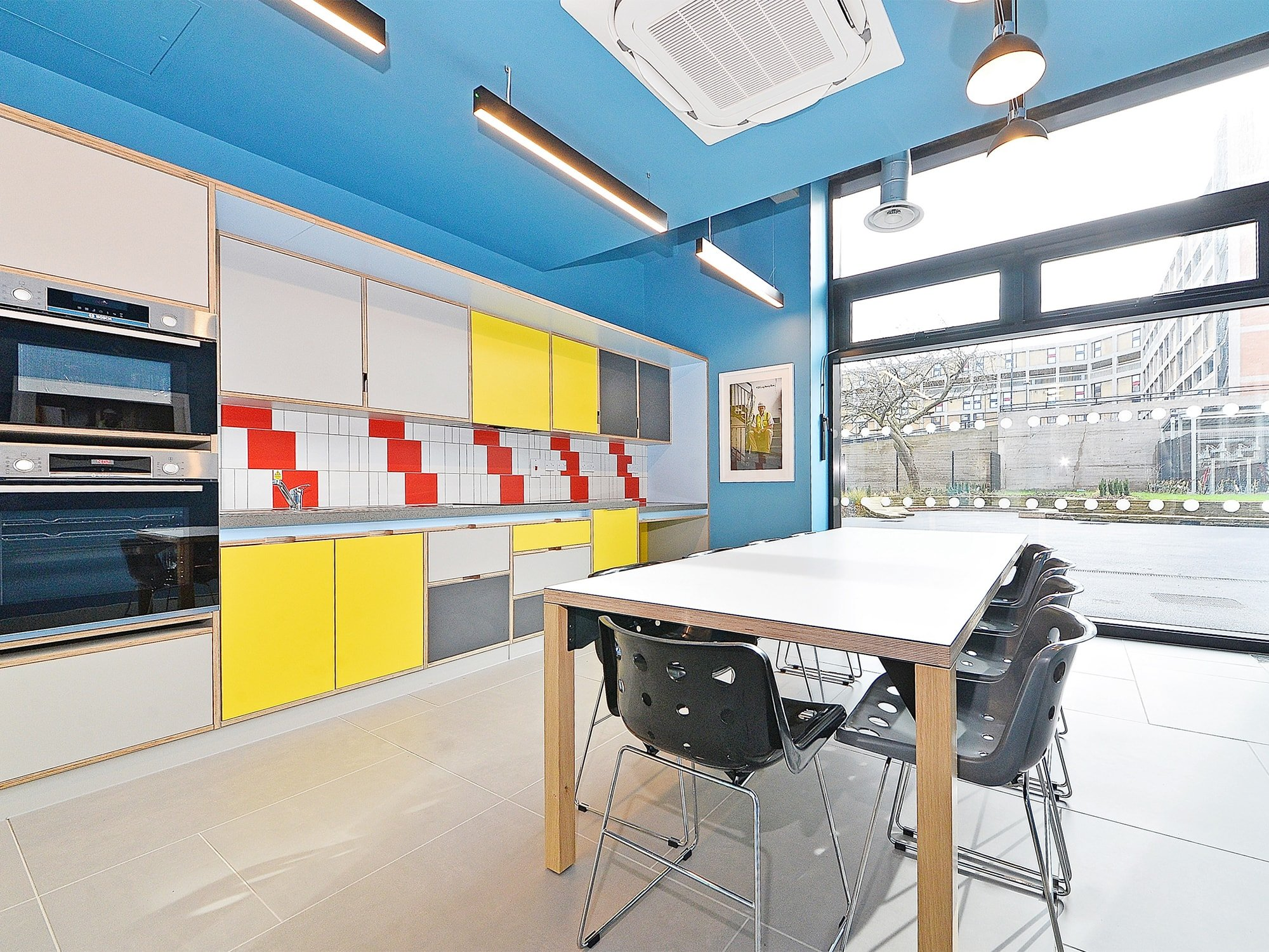 communal cooking space Beton House Sheffield Student Accommodation