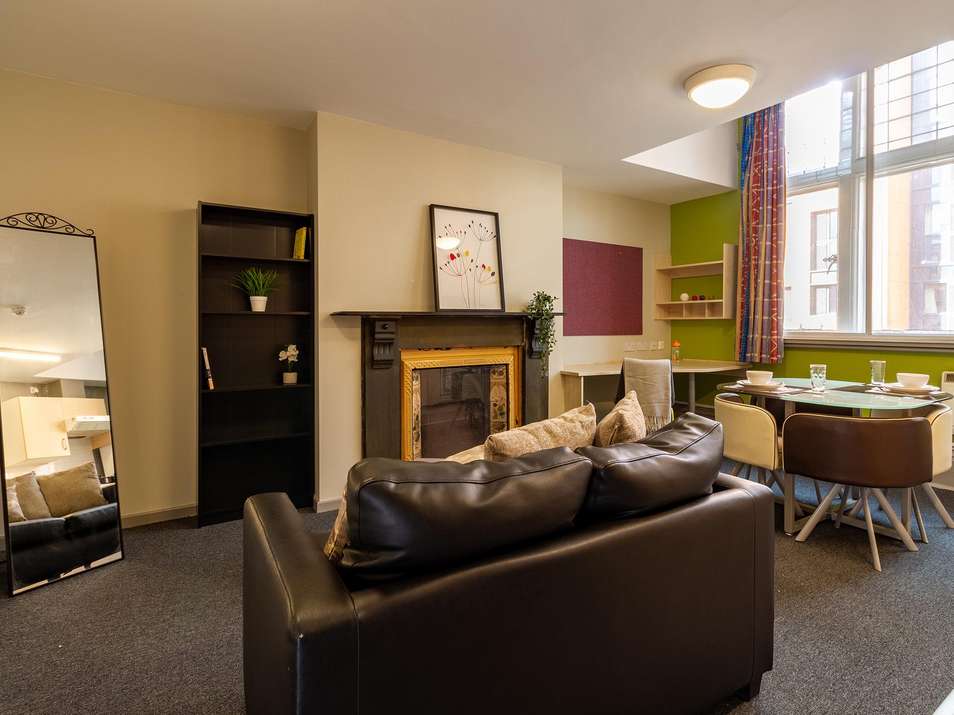 shared lounge Calcott Ten Coventry Student Accommodation