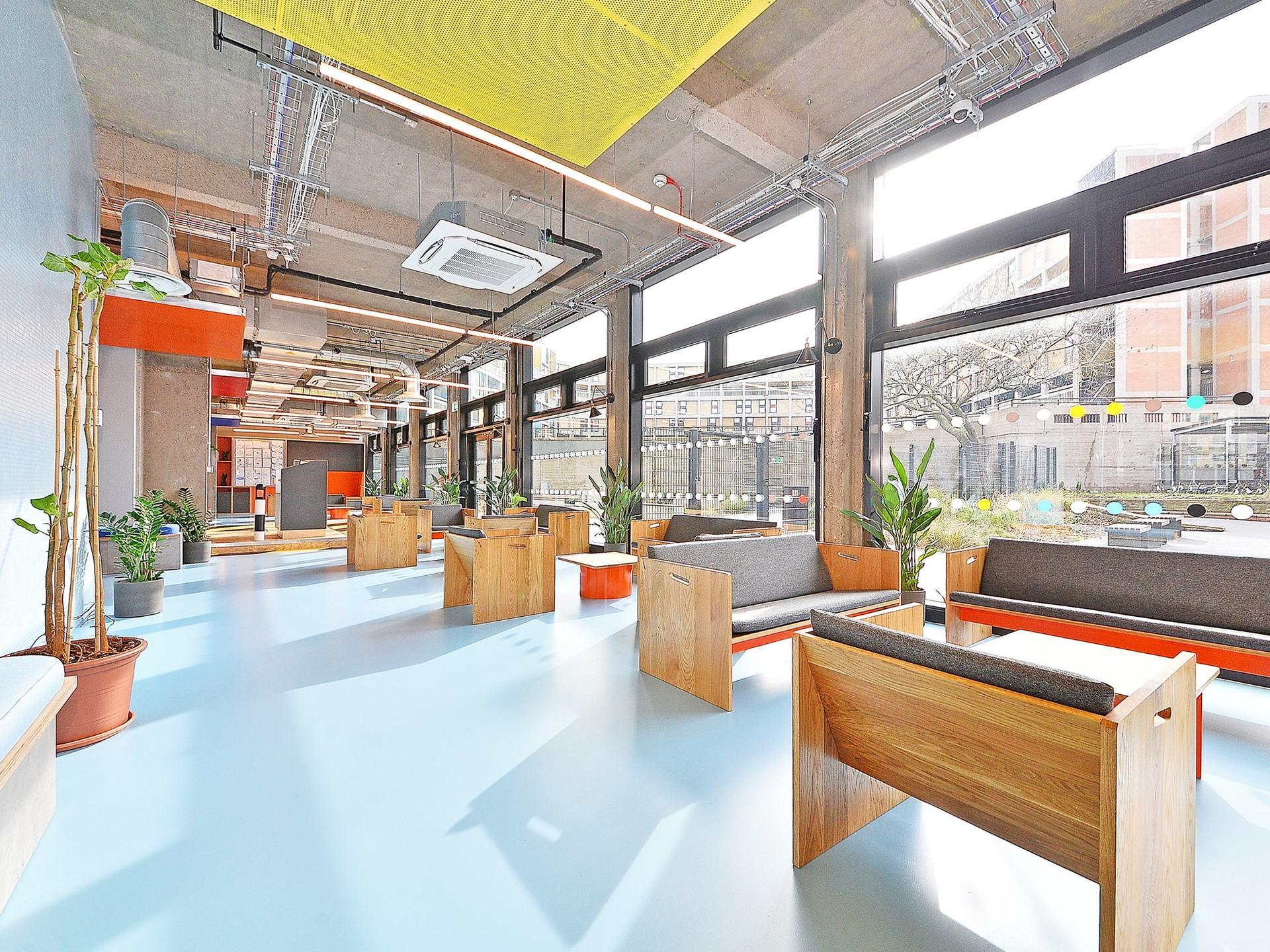 lounge area Beton House Sheffield Student Accommodation