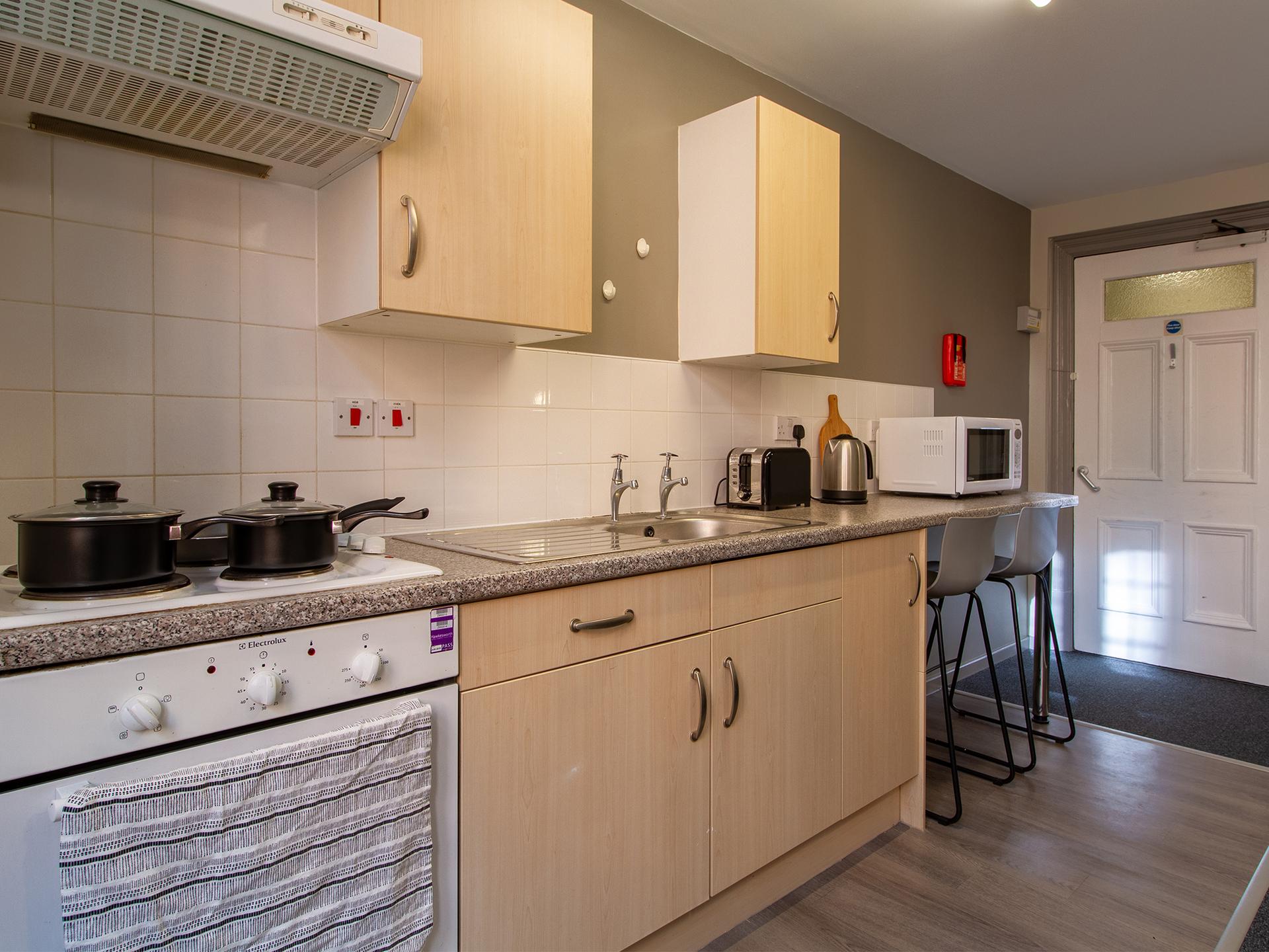 kitchen Calcott Ten Coventry Student Accommodation