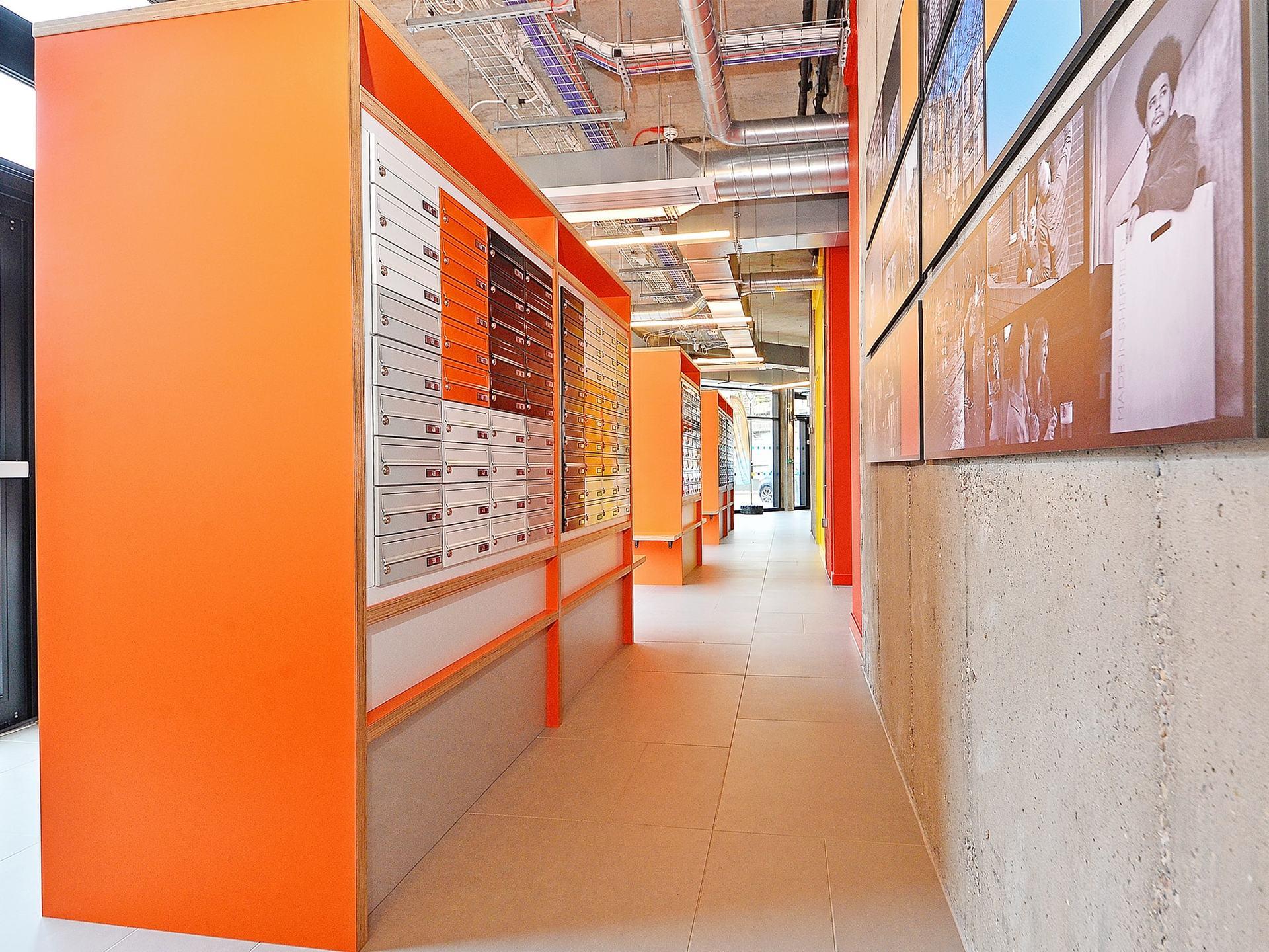 locker storage Beton House Sheffield Student Accommodation