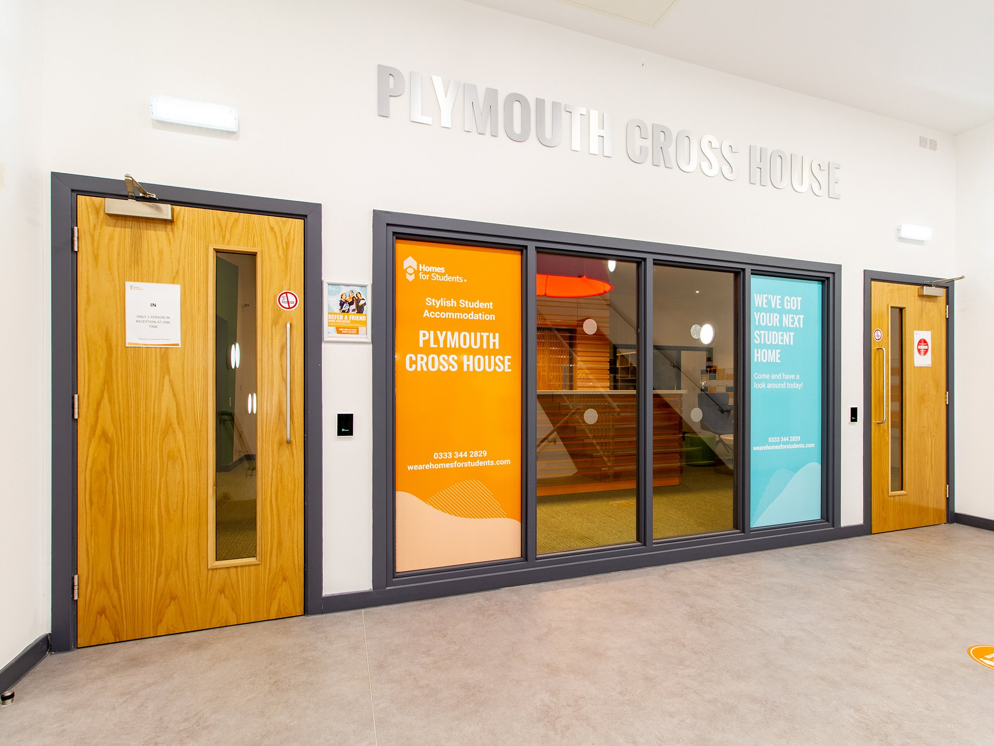 Plymouth Cross House Reception Area