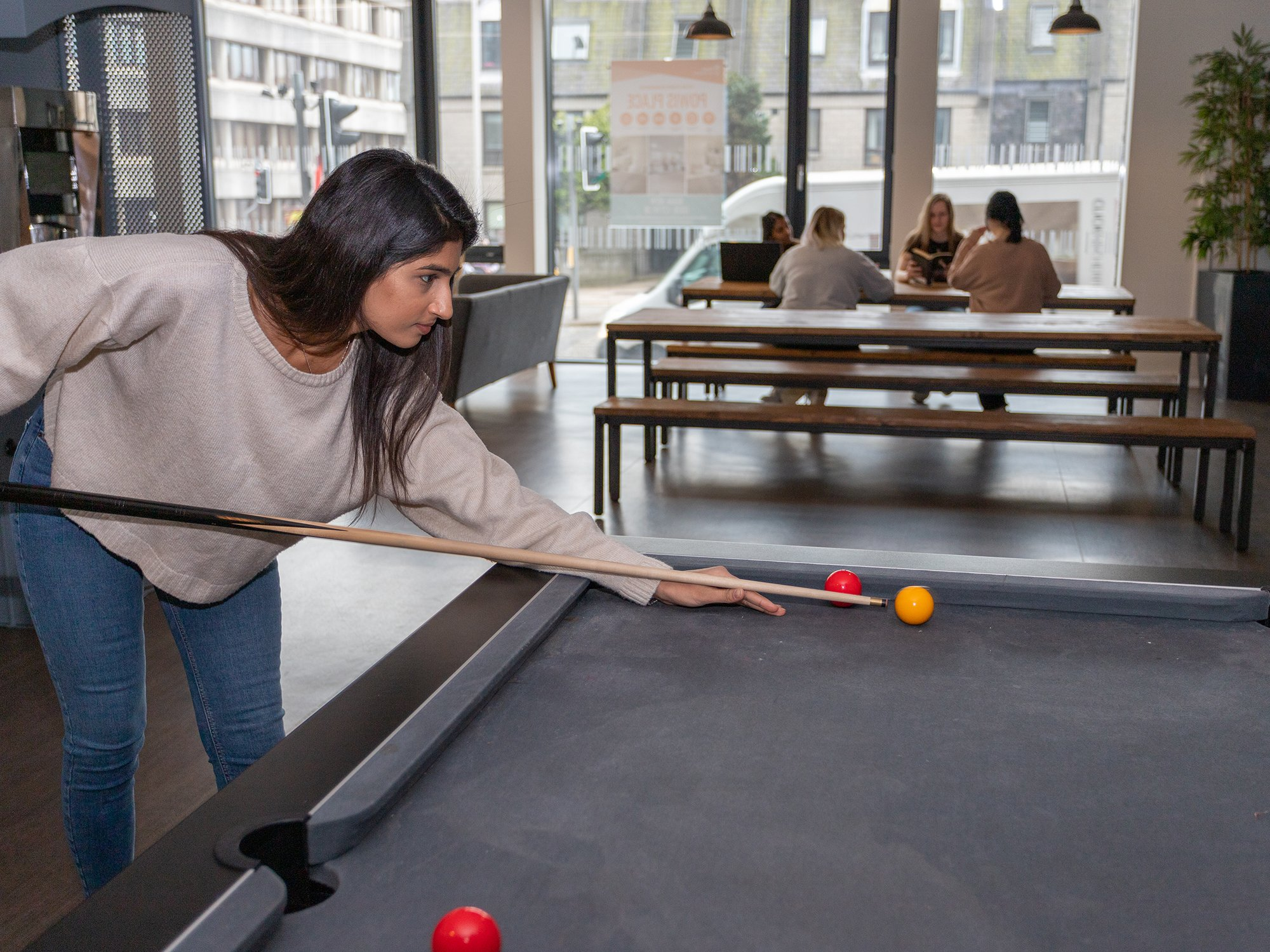 Powis Place Games Area Student Accommodation