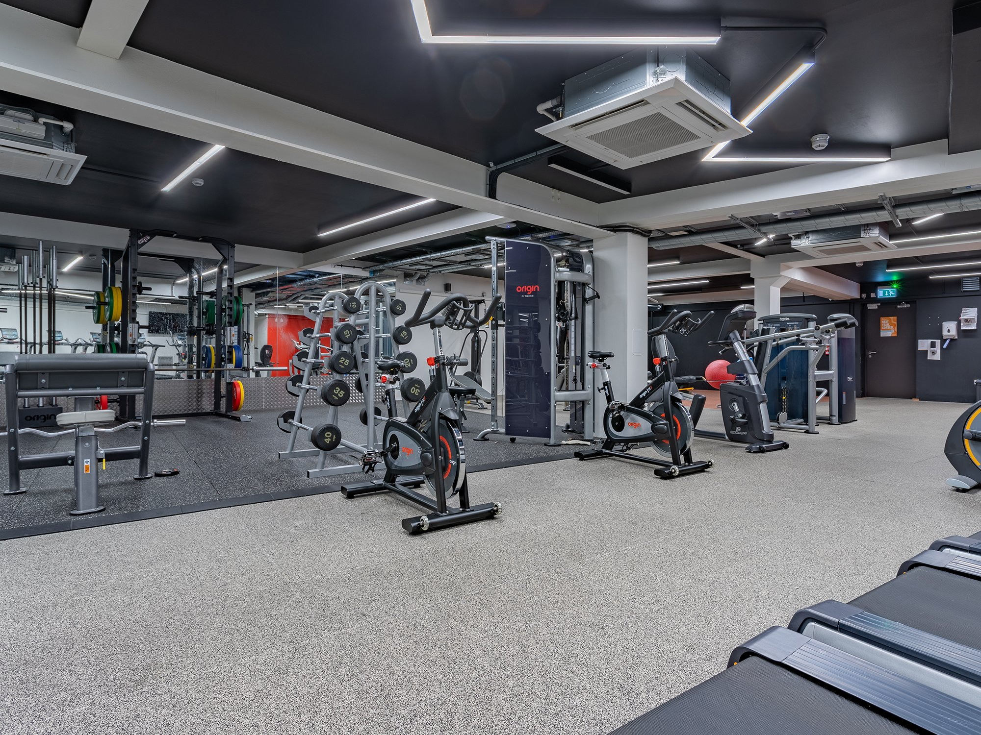 Indoor Gym in Powis Place Aberdeen