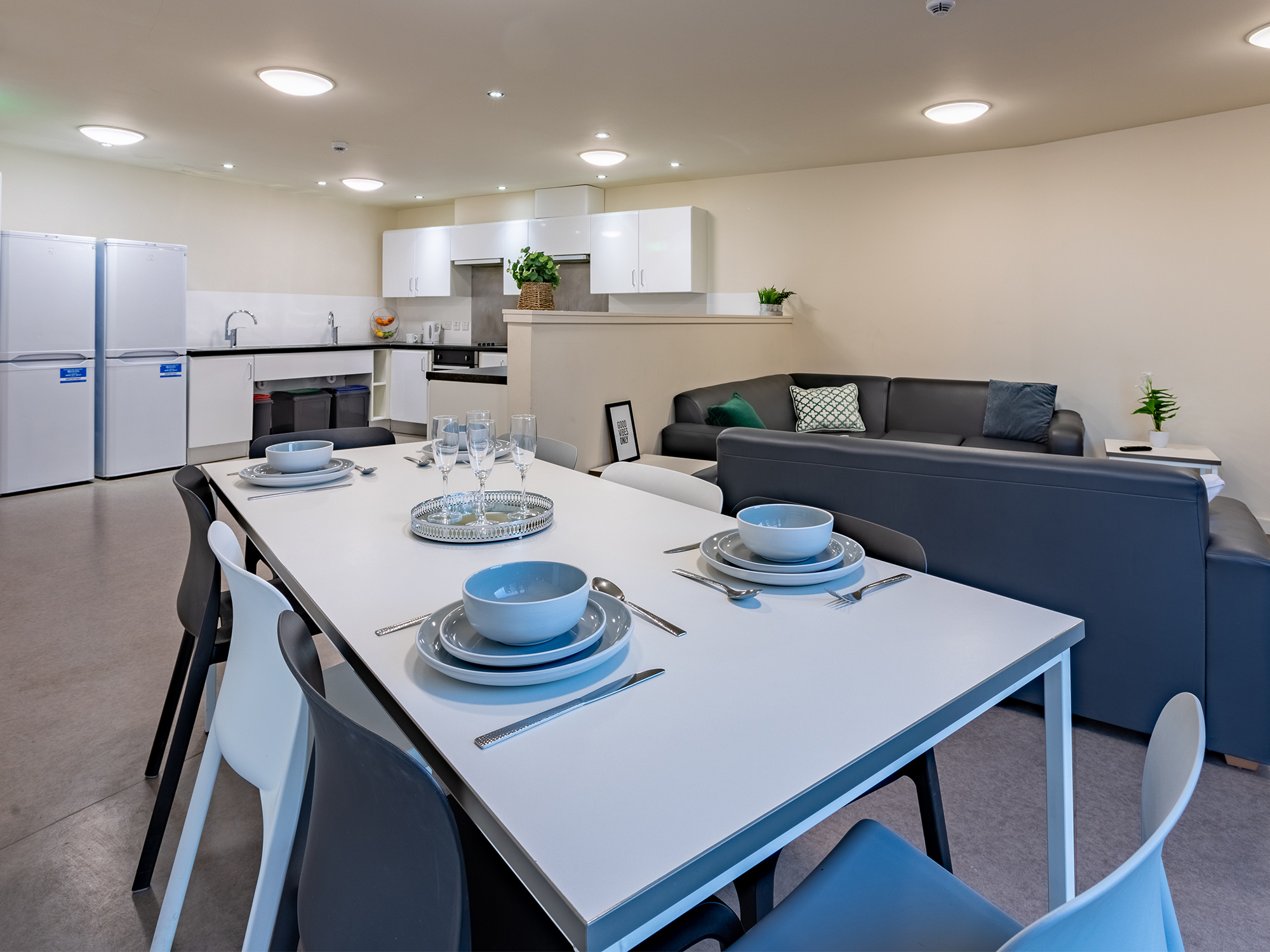Shared kitchen in Powis Place