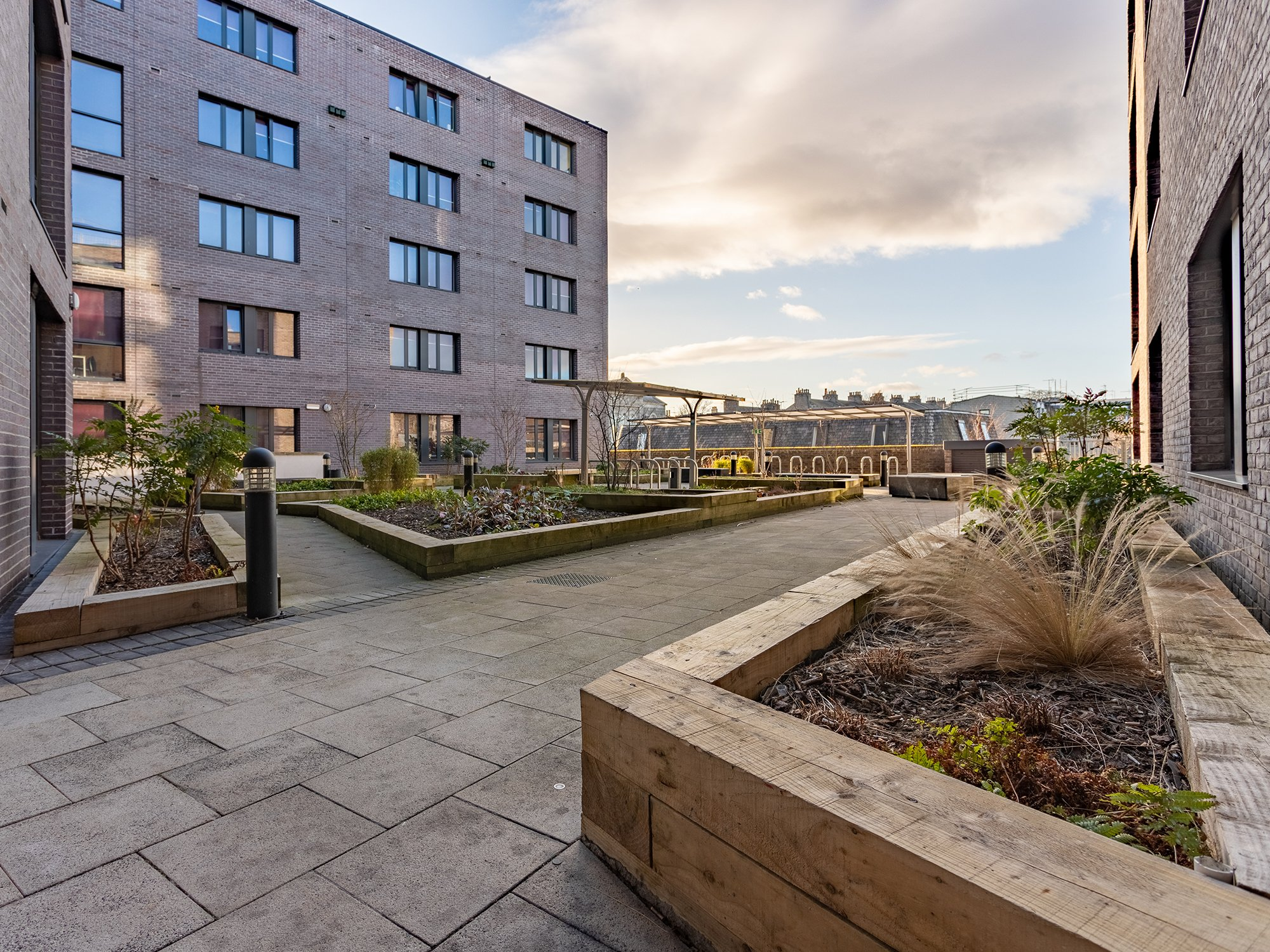 Powis Place Court Yard Student Accommodation