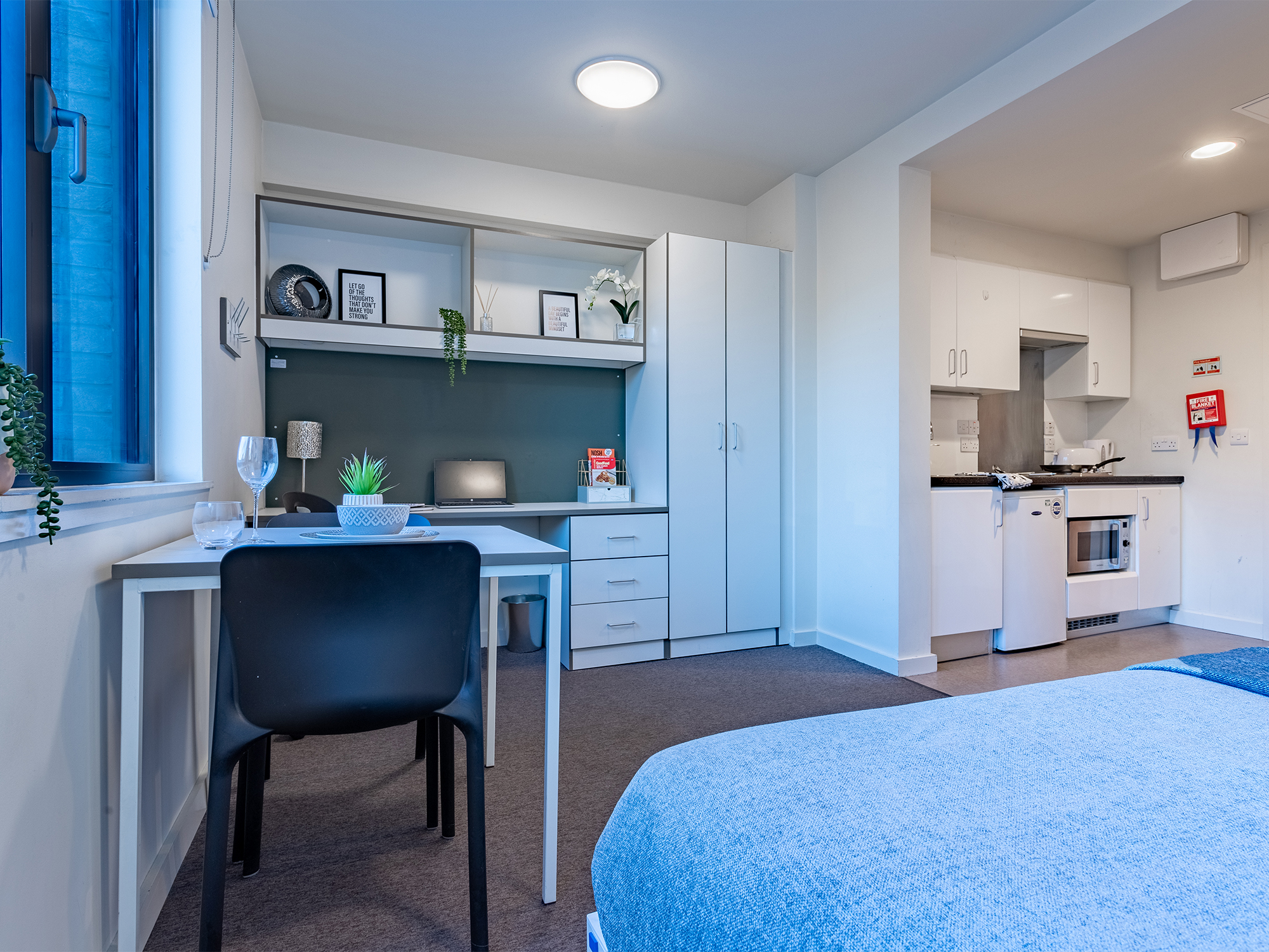 Classic Studio Powis Place Student Accommodation in Aberdeen