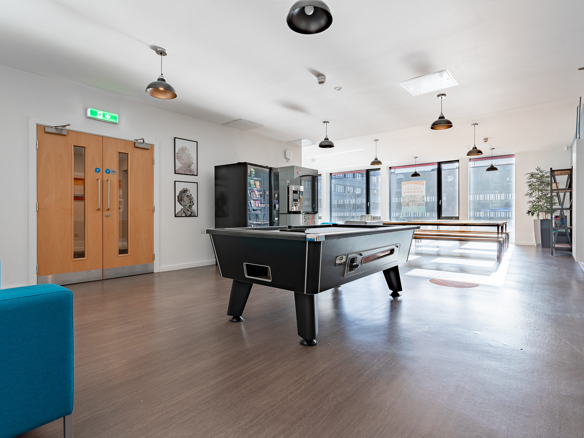 Aberdeen Student Accommodation Games Area