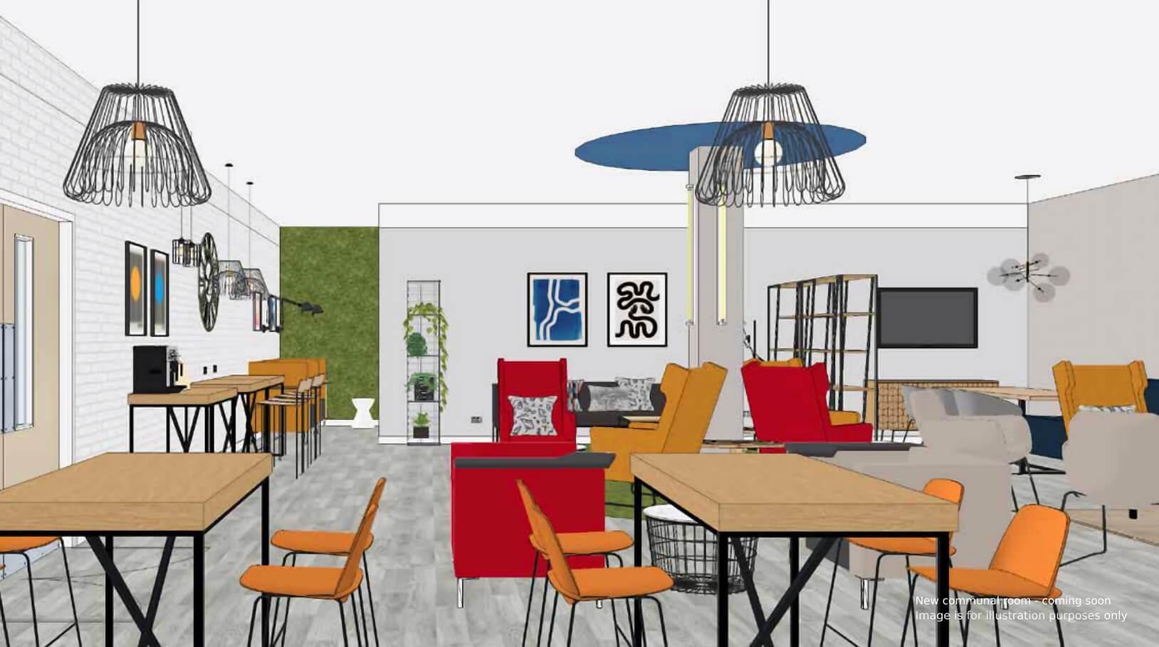 Rockingham House new common room 2