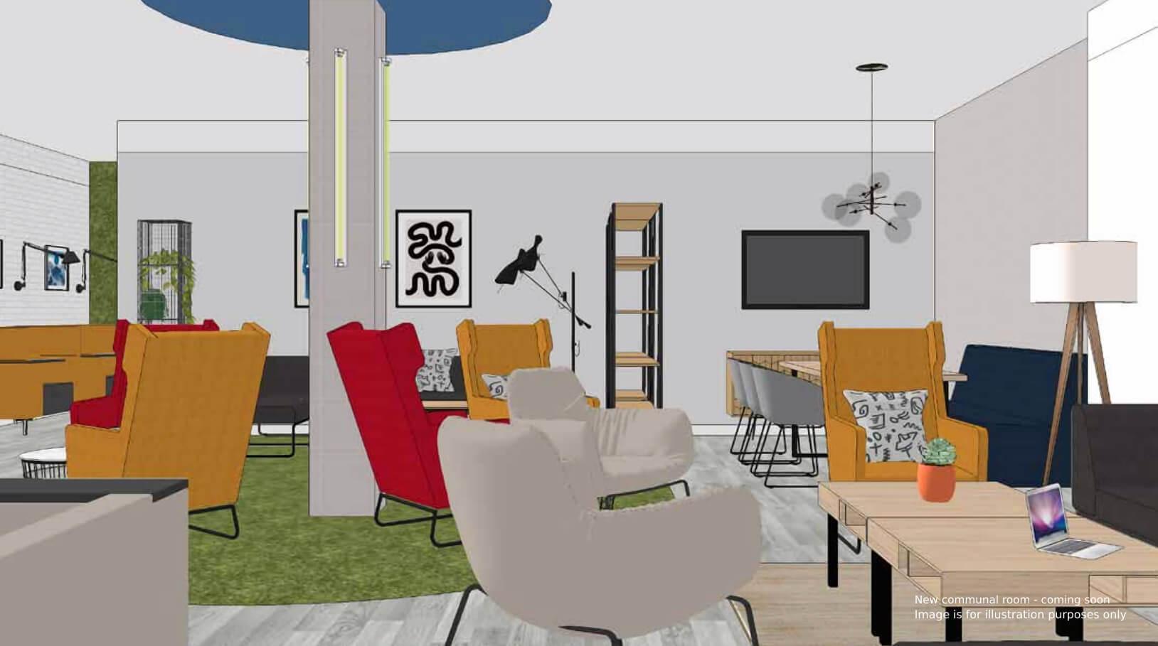 Rockingham House new common room 1