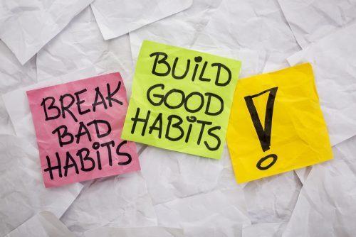Get rid of bad habits - exam stress