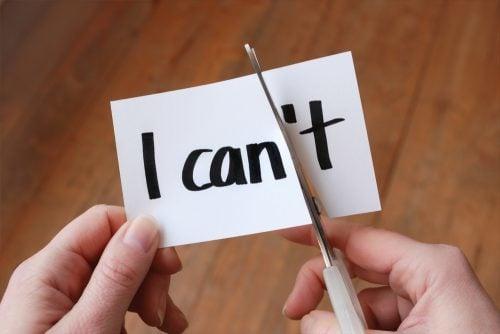 Have belief in your abilities