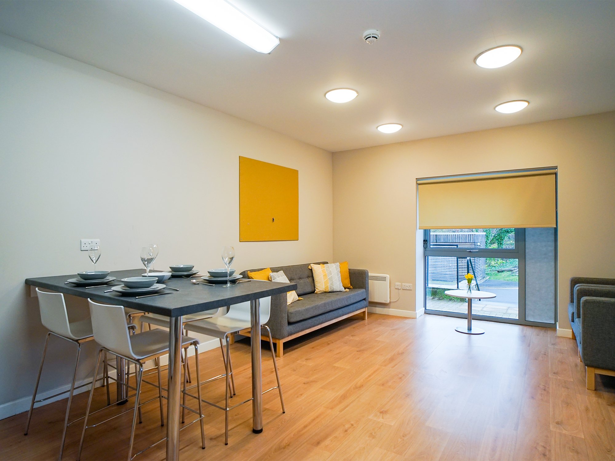 lounge space centro house student accommodation Stirling