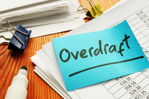 building a big overdraft