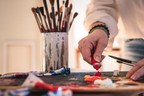 arts & crafts side hustle