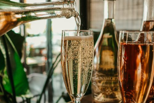 unlimited prosecco with bottomless brunch in london