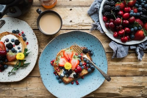 Pancakes sold in bottomless brunch London