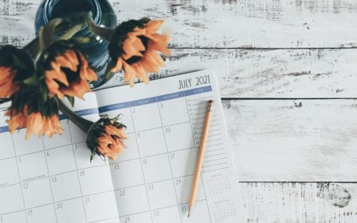 calendar with july on for ucas clearing 2021
