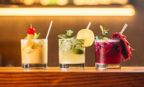 cocktails for students to drink during bottomless brunch
