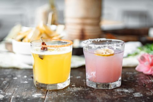 tropical cocktails to have in London bottomless brunch