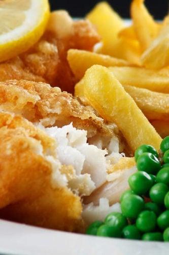 Brighton fish and chips