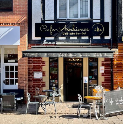 cafe ambience Loughborough